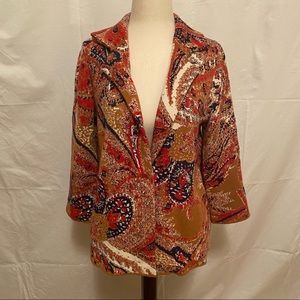 Moth by Anthropologie Patterned Sweater Cardigan